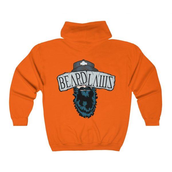 **Beard Laws 2.0 Full Zip Hooded Sweatshirt**
