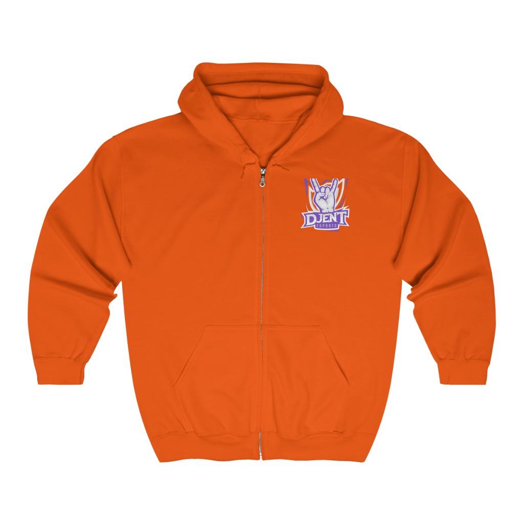 Djent Esports Full Zip Hooded Sweatshirt