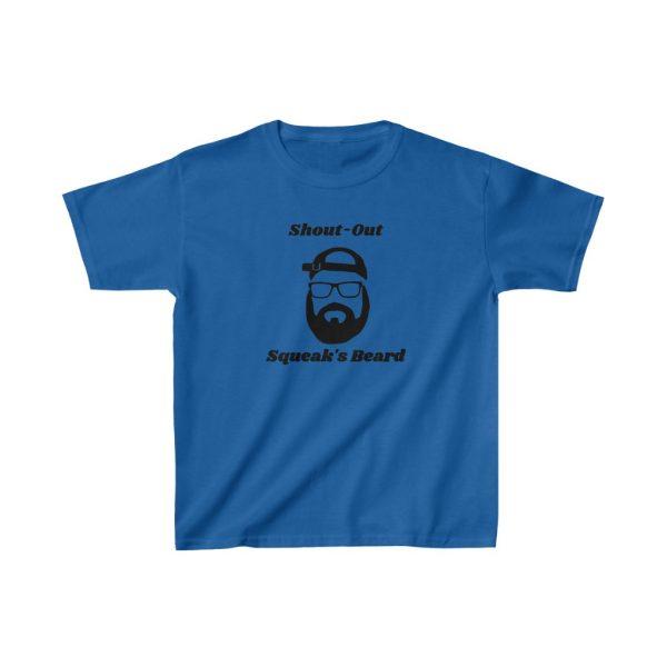 Shout Out Squeaks Beard Kids Heavy Cotton™ Tee
