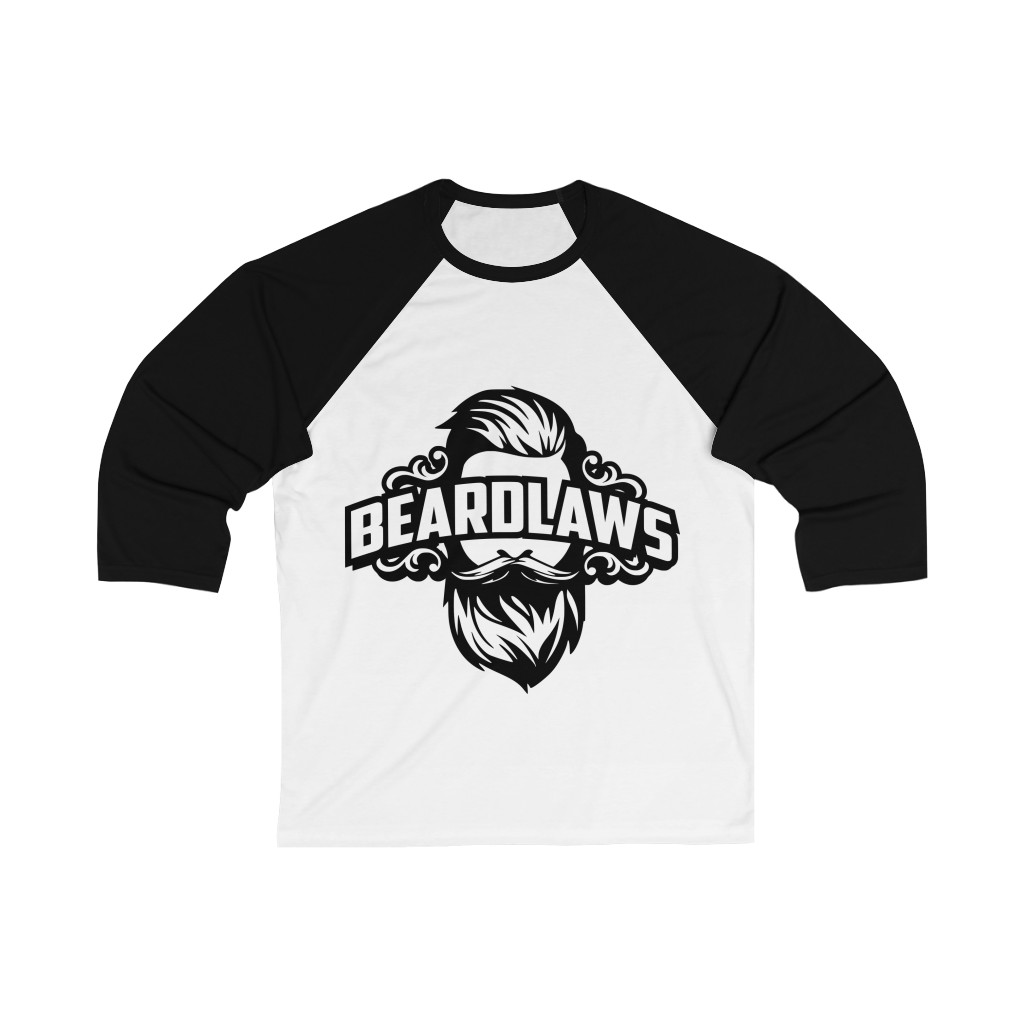 Beard Laws - Unisex 3/4 Sleeve Baseball Tee