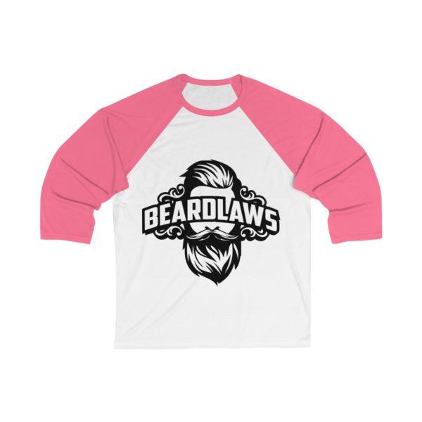 Beard Laws - Unisex 3/4 Sleeve Baseball Tee