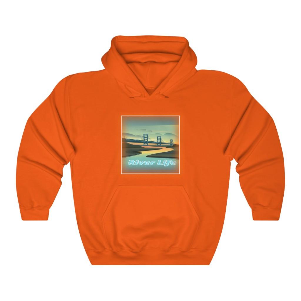 River Life Hoodie (Orange)