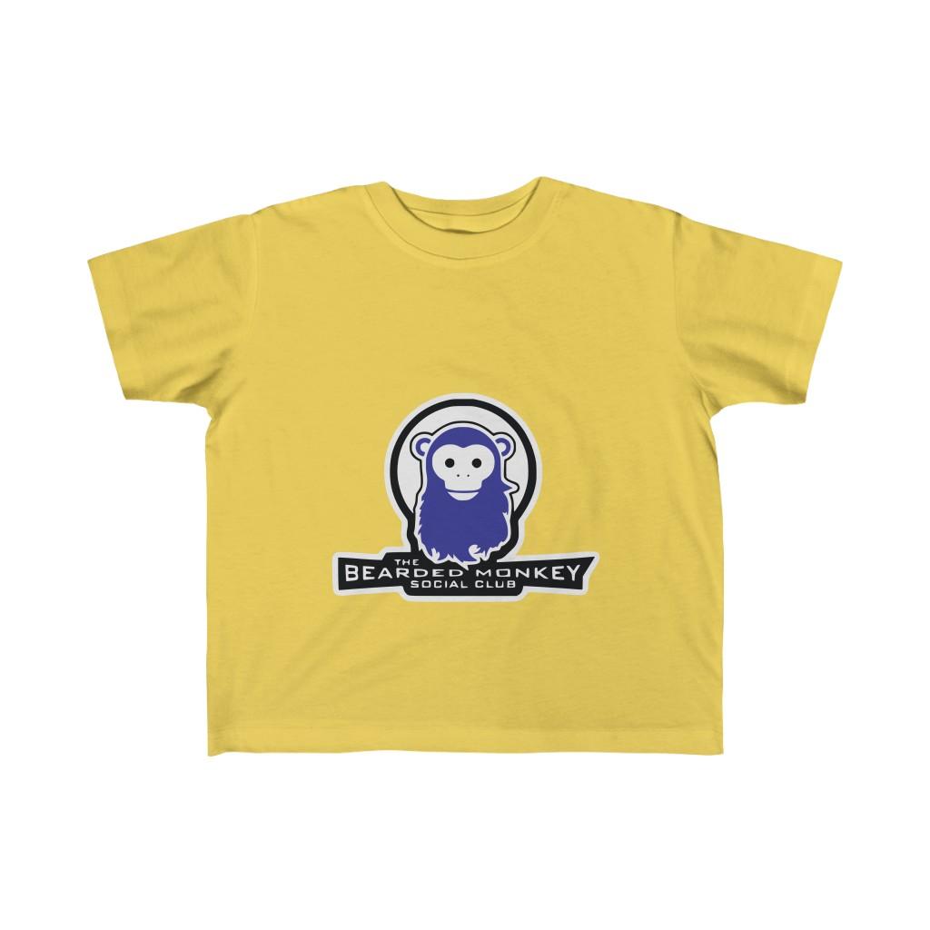 The Bearded Monkey Social Club Kids Tee