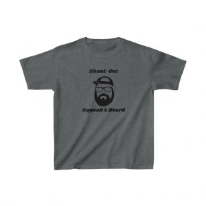 Shout Out Squeaks Beard Kids Heavy Cotton™ Tee