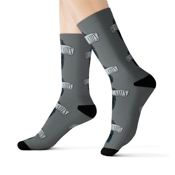 Beard Laws 2.0 Sublimation Socks