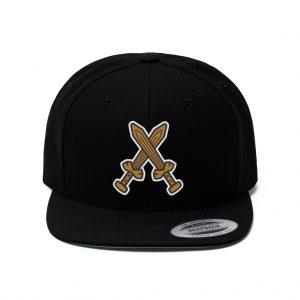 D-Bros Flat Brim Hat