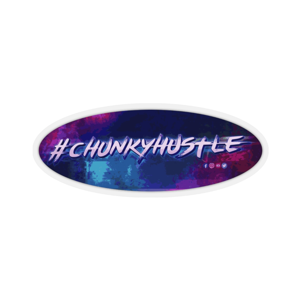 Chunkyhustle Kiss-Cut Stickers