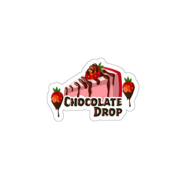 Chocolate Drop Kiss-Cut Stickers