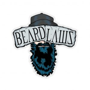 **Beard Laws 2.0 Stickers**