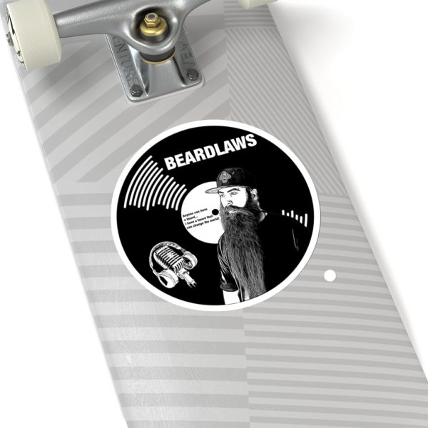 ** Beard Laws 2.0 Vinyl Kiss-Cut Stickers **