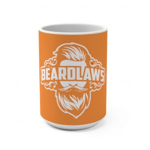Beard Laws Orange Mug 15oz