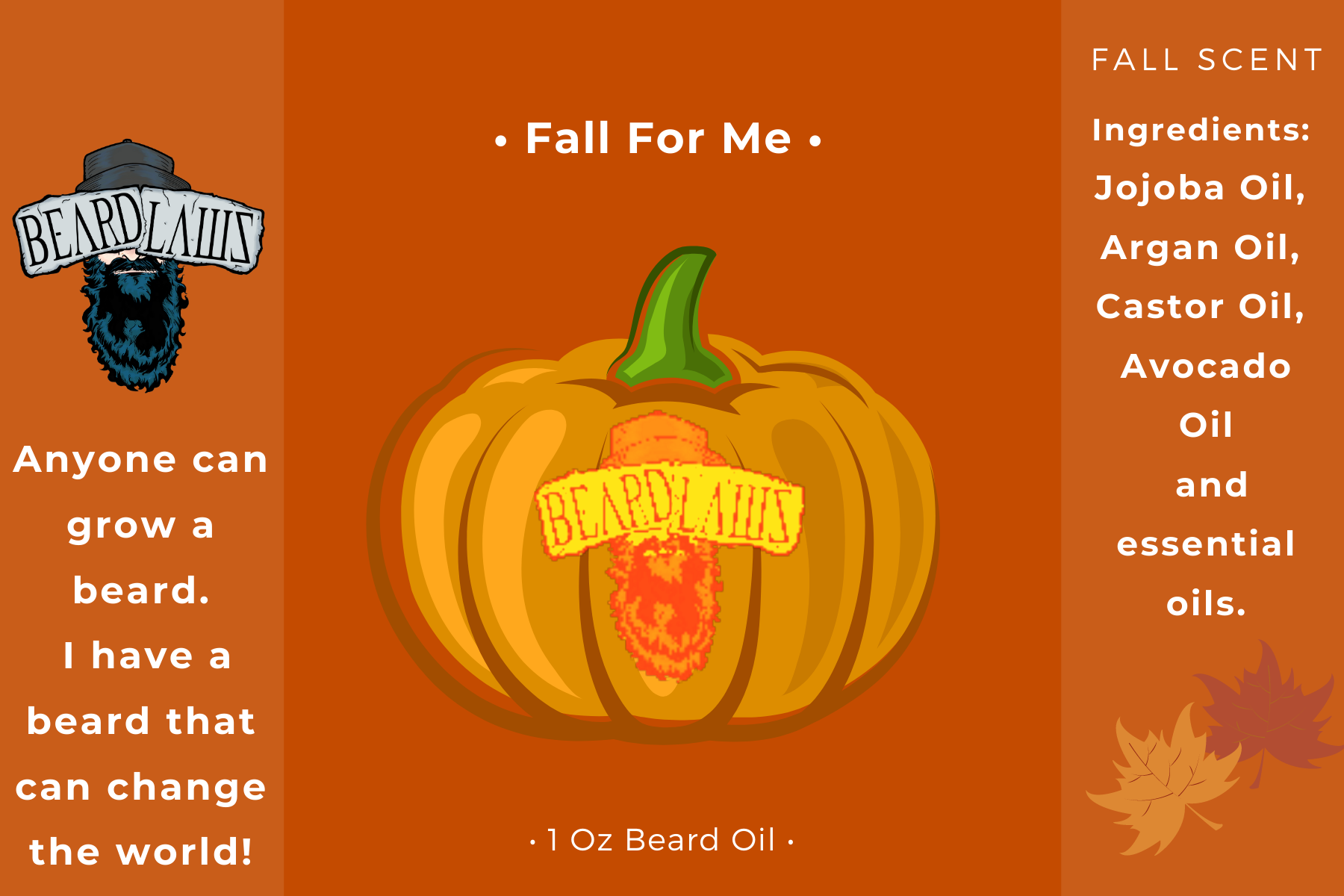 Beard Laws Beard Oil - Fall For Me