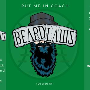 Beard Laws Beard Oil - Put Me In Coach