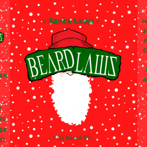 Beard Laws Beard Oil - Santa Laws (Christmas Scent)