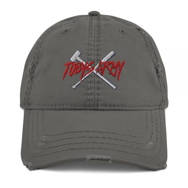 Tobys Army Distressed Dad Hat