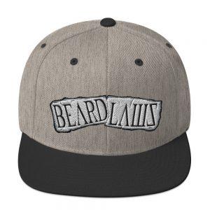 Beard Laws Snapback Hat III
